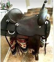 For sale 17 inch coats saddle