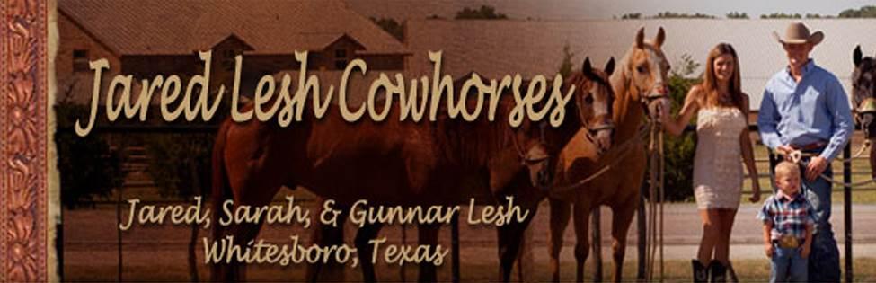 JARED LESH COWHORSES